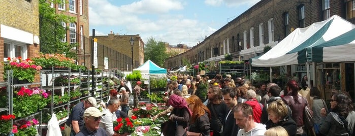 Columbia Road Flower Market is one of England.