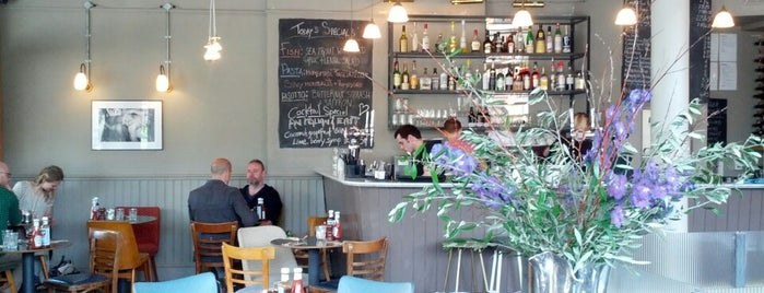 Market Cafe is one of BarChick's Bars with Benefits.