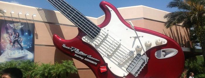 Rock 'n' Roller Coaster Starring Aerosmith is one of Walt Disney World.