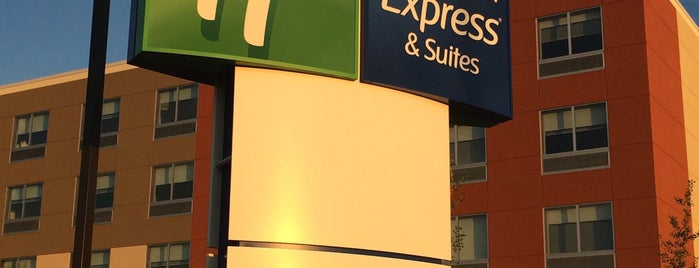 Holiday Inn Express & Suites is one of Non restaurants.