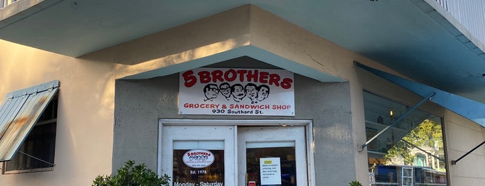 Five Brothers is one of Key West.
