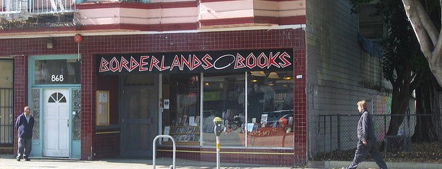 Borderlands Books is one of The 12 Best Independent Bookstores In SF.