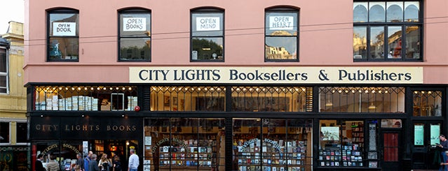 City Lights Bookstore is one of San Francisco.