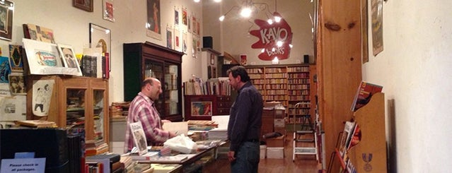 Kayo Books is one of The 12 Best Independent Bookstores In SF.