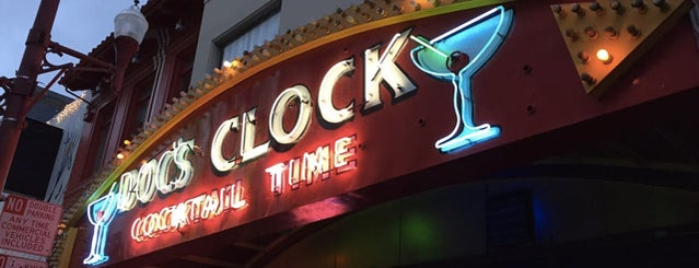 Doc's Clock is one of The 16 Most Amazing Jukeboxes In San Francisco.