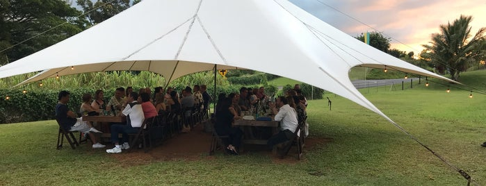 Kauai Ono Catering and Farm to Table Restaurant is one of Addison 님이 저장한 장소.