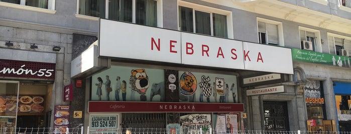 Nebraska is one of Estrella Galicia fóra de Galicia.