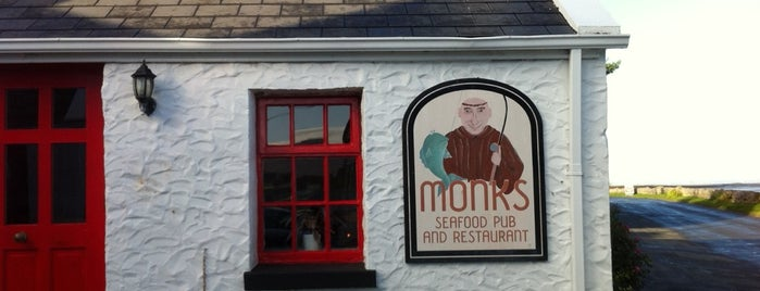 Monks Seafood Pub & Restaurant is one of Lugares guardados de Ian.
