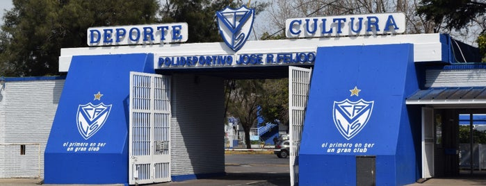 Polideportivo José R. Feijoó - C. A. Vélez Sarsfield is one of Buenos Aires.
