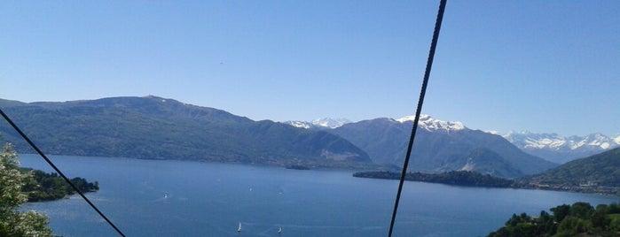 Funivie del Lago Maggiore is one of Tempat yang Disukai Mik.