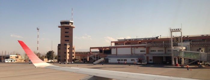 Aeropuerto Internacional de Mendoza - Gobernador Francisco Gabrielli (El Plumerillo) (MDZ) is one of ramtix 님이 저장한 장소.