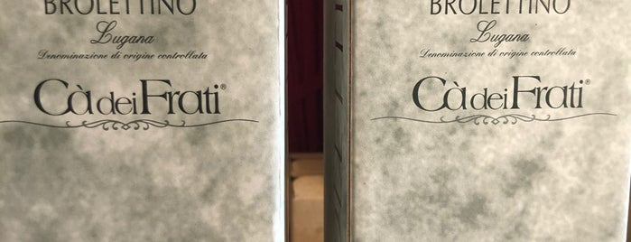 Cà dei Frati is one of Cantine BS.