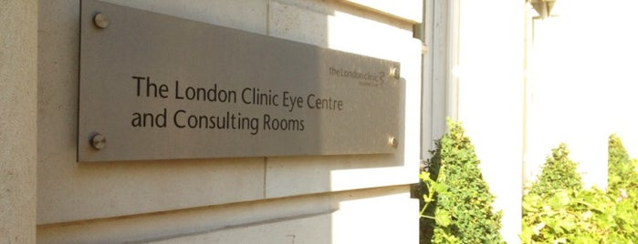 London Eye Hospital is one of Tempat yang Disukai Sonia.