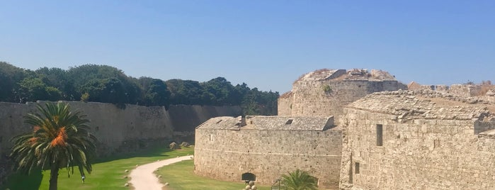 Medieval Moat is one of Rhodes.