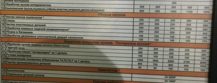 Мойка is one of Танки грязи не боятся?.