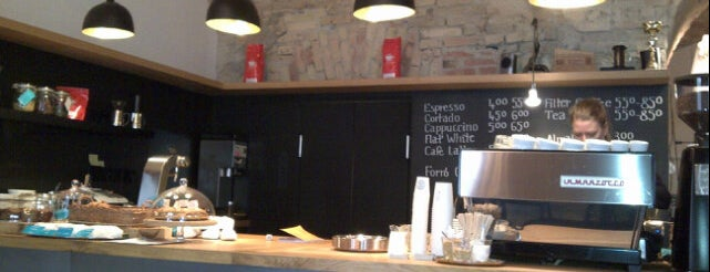 Espresso Embassy is one of Coffee Tour.