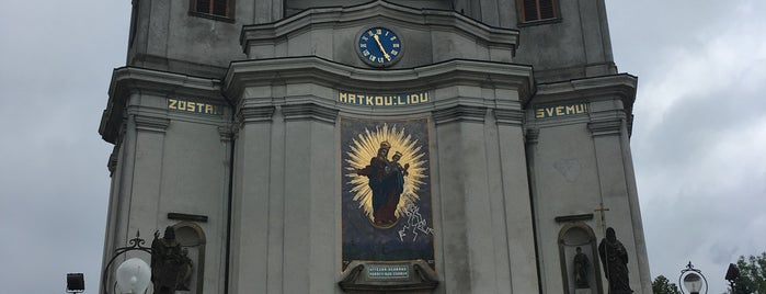 Poutní bazilika Nanebevzetí Panny Marie is one of Tempat yang Disukai Veronika.