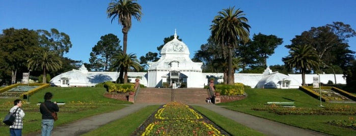 Golden Gate Park is one of Go Ahead, Be A Tourist.