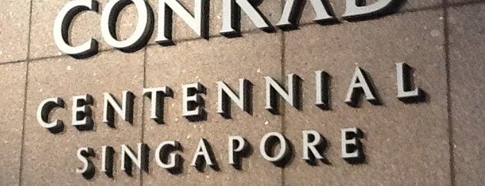 Conrad Centennial Singapore is one of Irishaさんのお気に入りスポット.