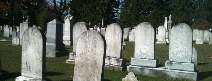 Evergreen Cemetery is one of Spooky Travel.