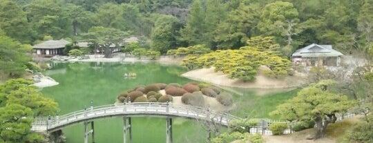 Ritsurin Garden is one of Lugares favoritos de Shigeo.