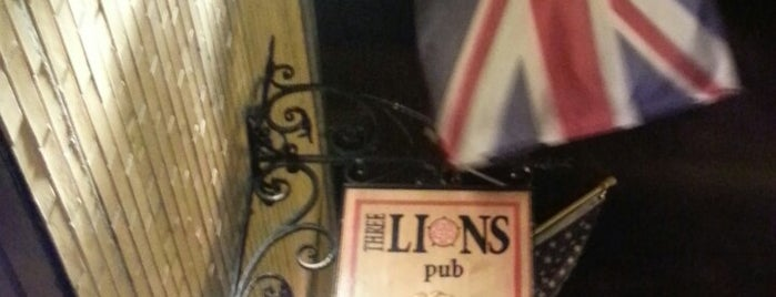 Three Lions Pub is one of Rob's Liked Places.