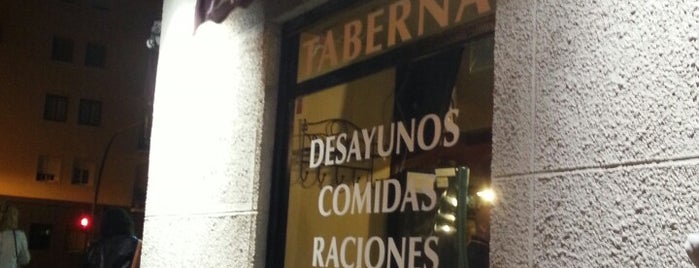 Taberna La Pepa is one of Tapeo.