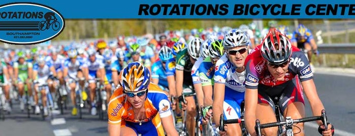 Rotations Bicycle Center is one of The Hamptons.
