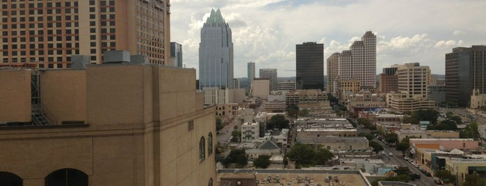 Hilton Garden Inn Austin Downtown/Convention Center is one of SXSW 2014... [Austin, TX].