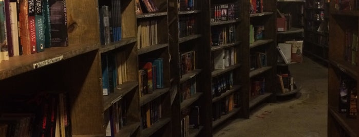 The Last Bookstore is one of The Foursquare Insider's Perfect Day in LA.