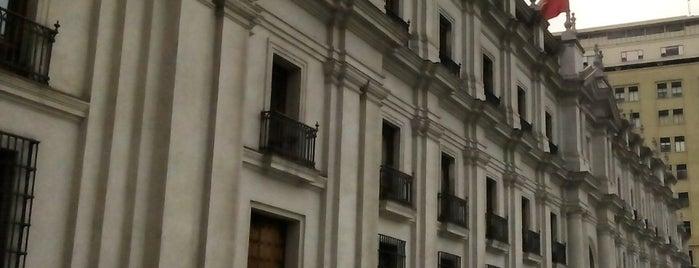 Palacio de La Moneda is one of Posti che sono piaciuti a Janeth.