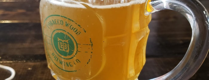 Tobacco Wood Brewing Company is one of Breweries or Bust 4.