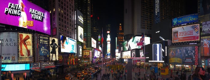 Times Square is one of Lugares favoritos de David.