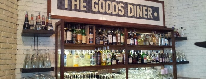 THE GOODS DINER • is one of Locais salvos de Funny.