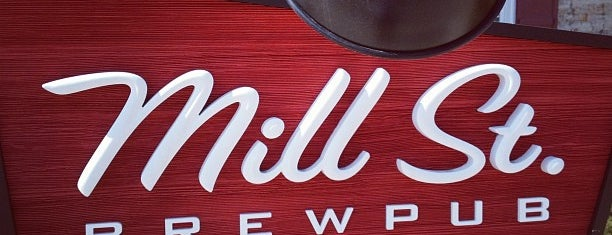 Mill St. Brew Pub is one of Anne-Sophie 님이 저장한 장소.