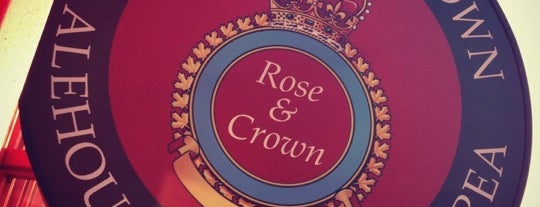 The Rose & Crown Alehouse is one of Egorさんのお気に入りスポット.
