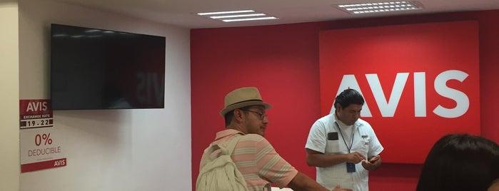 Avis Car Rental is one of Cozumel.