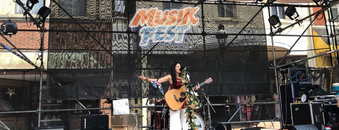 Provident Bank Main Street is one of Musikfest 2018.