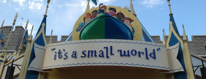 it's a small world is one of DISNEY.