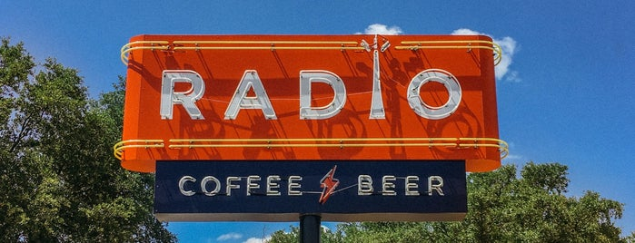 Radio Coffee & Beer is one of Best of Austin/San Antonio.