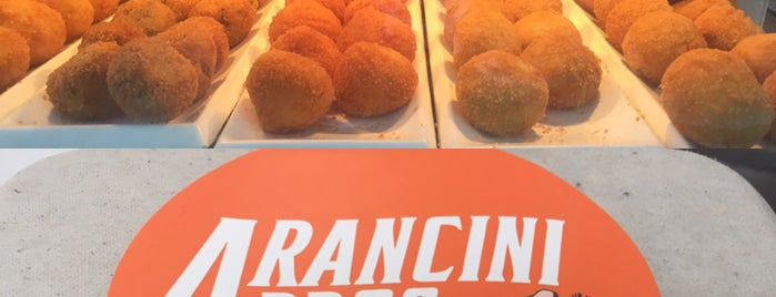 Arancini Bros is one of NY Faves & To Do's.