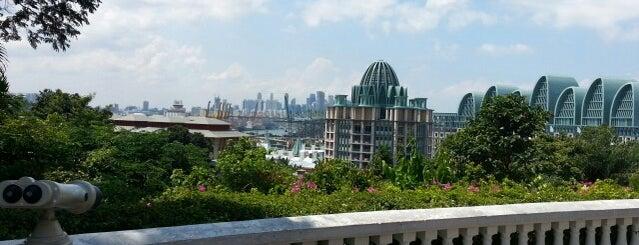 Imbiah Lookout is one of Singapura.