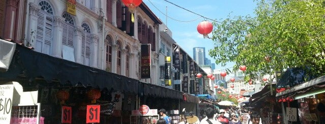Chinatown is one of Singapore.