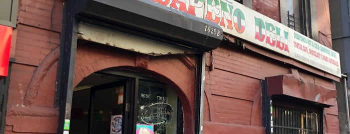Jalepeno Deli is one of Legit Mexican Food in New York.
