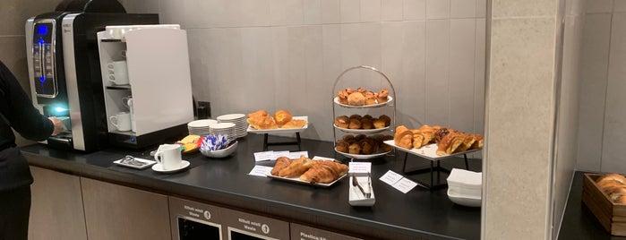 British Airways CIP Lounge is one of Favorite places.