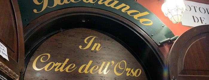 Bacarando In Corte dell'Orso is one of Italia 🇮🇹 🍝.