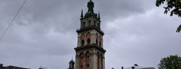 Церква Успення Пресвятої Богородиці is one of Lugares favoritos de Lucy🔥.