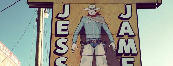 Jesse James Wax Museum is one of Route 66 Roadtrip.
