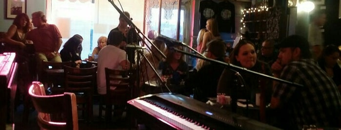 The Bluebird Cafe is one of Nashville.