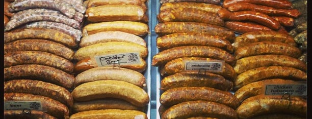 Rosamunde Sausage Grill is one of Williamsburg.